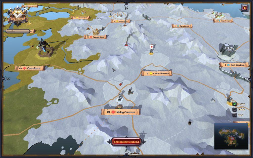 Zones Albion Online